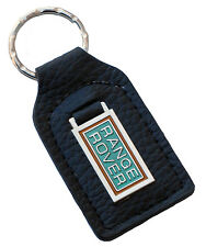 Land Rover Range Rover leather and enamel car key ring fob