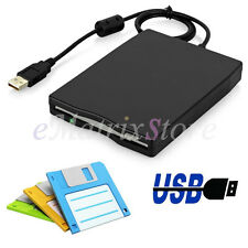 "External 3.5""Floppy Drive Disk Diskette FDD 1.44MB USB 2.0/3.0 For PC Win 7/8/10"