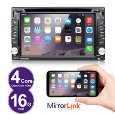 Android 4.4 Autoradio Bluetooth Navigation Doppel 2 DIN USB GPS 3G WIFI DVD USB