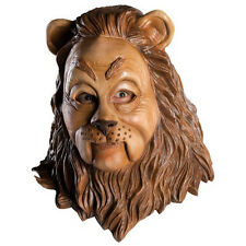 Wizard of Oz Cowardly Lion Overhead Deluxe Latex Mask Fancy Dress Party Costume