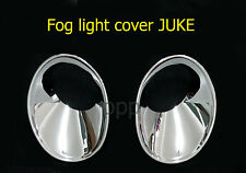 CHROME FOG LAMP SPOT LIGHT COVER TRIM FOR NISSAN JUKE 4DOOR HATCHBACK 2011-2013