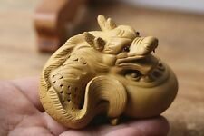 1pc  China Yixing Purple Clay Tea Decoration Dragon sculpture Tea Pet Duan Ni