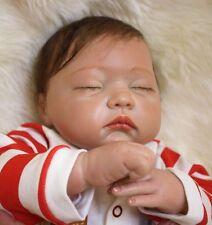 B109 Lovely Sleeping Reborn Baby Boy Doll Child Friendly H 22 inch