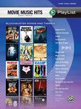 MOVIE MUSIC HITS-SHEET MUSIC PLAYLIST-PIANO/VOCAL/GUITAR CHORDS MUSIC BOOK NEW!!