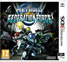 Metroid Prime: Federation Force (3DS) Brand New & Sealed UK PAL