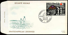 Belgium 1970 Social Security FDC First Day Cover  #C21057