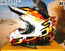 SCORPION EVO VX-15 GRID Pumpsystem Cross Enduro Helm Orange KTM SX-F Thor NEU M