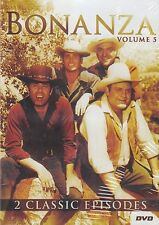 BONANZA DVD! 2 EPISODES! BRAND NEW! VOL#5 THE GUNMEN! MICHAEL LANDON!