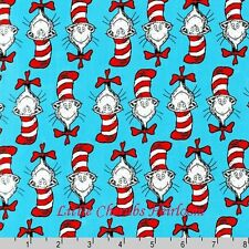 Dr Seuss The Cat in the Hat Celebration Cat Fabric 795