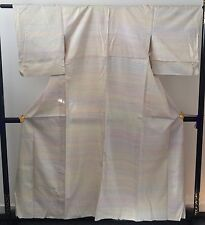 Authentic vintage handmade Japanese women's kimono, Japan import, silk (F293)