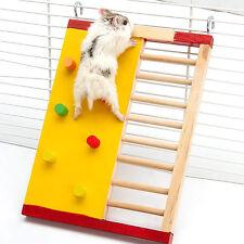 Neu Haustier Ratte Hamster Nager Haustier Spielzeug Holz Kletter Treppenleiter