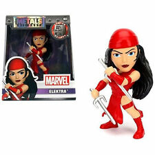 "Jada Toys 4"" Metals Diecast Marvel Action Figure 98093 Elektra"