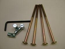 Lit/boulons de berceau 4 set de M6 x 115mm verrou,allen clés & 20mm
