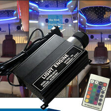 16W RGB LED Fiber Optic Star Ceiling Lights Engine Driver + 24RF remote Ctroller