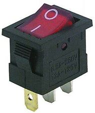 Interruttore,Mini interruttore illuminato,ACCENSIONE E SPEGNIMENTO,230V-6,5A,S3S