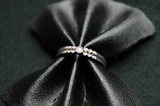 18CT WHITE GOLD RING WITH DIAMONDS!!! 0,15CT!!!