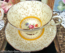 PARAGON TEA CUP AND SAUCER CHINTZ FLORAL BRACKENMORE PATTERN TEACUP