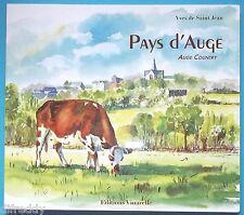 Rare, Pays d'Auge, Yves de Saint Jean, Auge country, Belles aquarelles, Recettes