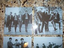 NEW Set of 4 Glass Coasters THE BEATLES Product Unique Gift by Apple Corps Ltd
