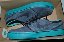 New Mens Nike Zoom Stefan Janoski SB Shoes 333824-053 sz 10 Black Hyper Jade
