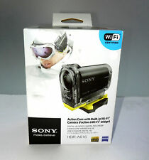 Sony HDRAS15 1080p Wi-Fi Action Camcorder NEW!!