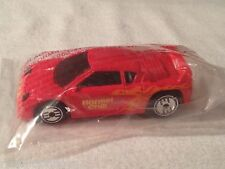 BNIP~ Hot Wheels 1990 HORMEL CHILI Promo - ZENDER red RACE car ~ NEW & SEALED