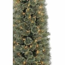 NEW IN BOX Pre-Lit 4 ft Cashmere Artificial Christmas Tree Green Clear Lights