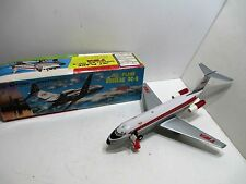 DC-9 JETLINER WITH OPERATING BOARDING RAMP BATTERY OPERATED MINT IN BOX WORKS