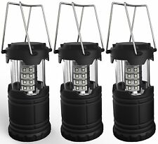 Portable LED Camping Lantern, Lemontec water resistant Ultra Bright 30 LED for 3