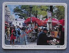 PARIS MONTMATRE PLACE DU TERTRE   postcard