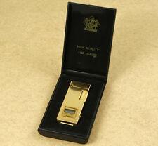 Perfect Vintage Metallic Gas Lighter LCD Watch New Old Stock