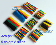 Assorted Heat Shrink Tube 328 Pcs for RC Hobbies Electronics Phantom Flamewheel