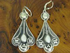 925 Sterling Orecchini Argento con guarnizione in pietra di luna/Orecchini