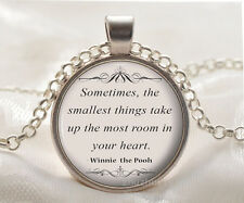 Book quote Cabochon Glass silver necklace for women men Jewelry Q#194