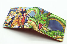 HOT Dragon ball Z DragonBall Z  DBZ billfold cosplay Son Goku short Wallet Purse