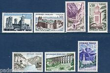 FRANCE 1960 Tourist Publicity set of 7 vf MINT never hinged  SG 1461 - 1467