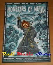 POSTER PROMO MONSTERS OF METAL VOL. 3 84 X 59,5 cm IMMORTAL-ANTHRAX-CREMATORY...