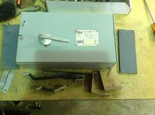 GE THFP264 200 AMP 600 VOLT 2 POLE  FUSIBLE PANELBOARD SWITCH