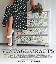 Vintage Crafts: 75 Do-It-Yourself Decorating Projects Using Candles, C-ExLibrary
