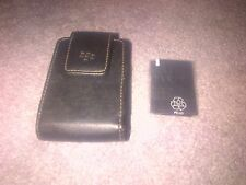 Blackberry carry case with magnetic clasp, brand new.  Also includes wipe cloth.