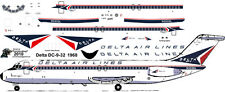 Delta delivery McDonnell Douglas DC-9-32  airliner decals for Airfix 1/144 kits