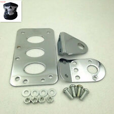 Motorcycle Side Mount License Plate Bracket For Harley Cruiser Bobber Chopper