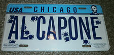 AL CAPONE LICENSE PLATE SIGN 6 X 12 INCHES ALUMINUM NEW