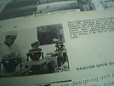 magazine picture 1969 sperry flight systems cl 11 gyros testing lab