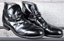 Vintage IRON AGE by BOSTONIAN Monk Strap Steel Toe Beatle Work Boots Sz. 9 E