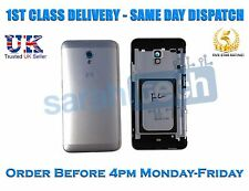 ZTE Blade V7 Rear Housing Battery Door Cover Panel Case With Buttons Grey Silver