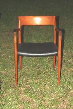 Model 57 chair from Danish designer Niels Moller for J.L Moller Mobelfabrik Old