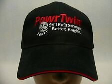 POWR TWIN - SPEEFLO - EMBROIDERED - ADJUSTABLE BALL CAP HAT!