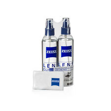 ZEISS Lens Cleaning 8 oz Spray 2 Pack w/ Cleaning Cloths - Glasses & Electronics