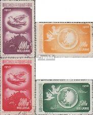 Volksrepublik China 192-195 (kompl.Ausg.) gestempelt 1952 Friedenskonferenz